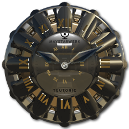 Clock Widget Teutonic