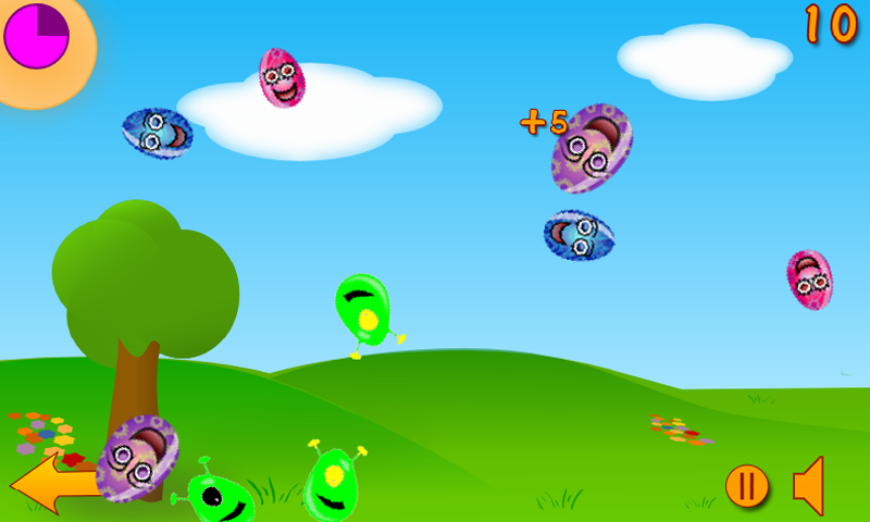 Egg Mania- screenshot