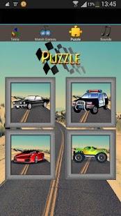 fun car games for kids free screenshot thumbnail