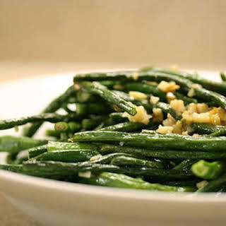Stir-Fried Chinese Long Beans.