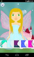 Screenshot of fairy salon games