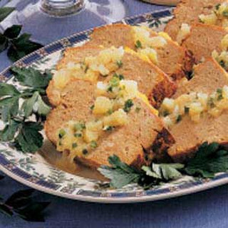 Tropical Turkey Meat Loaf