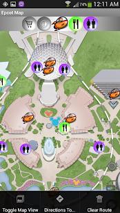 Map for Disney World - Lite - screenshot thumbnail