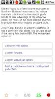 Screenshot of L3 CFA® Exam TestBank
