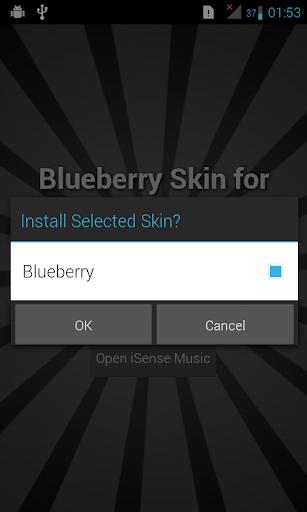 Blueberry Skin - iSense Music
