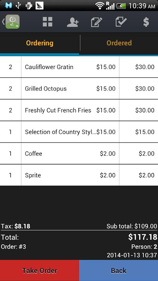 Restaurant POS - Point of Sale - screenshot