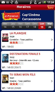 Cap'Cinéma - screenshot thumbnail