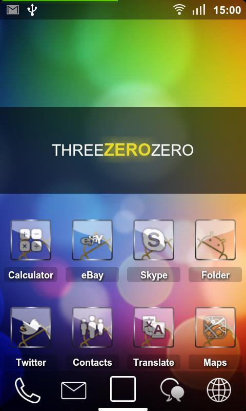 Sense ADW Theme HD - screenshot