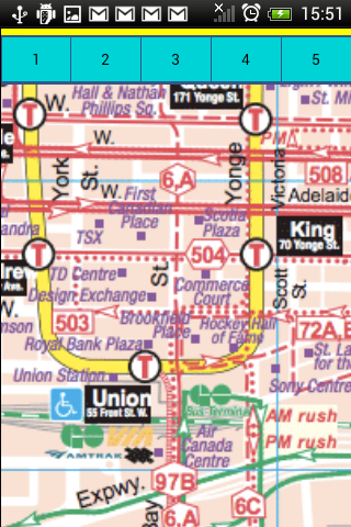 Toronto Transport Maps