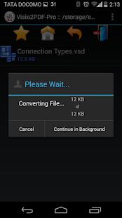玩免費商業APP|下載Visio to PDF Converter Pro app不用錢|硬是要APP