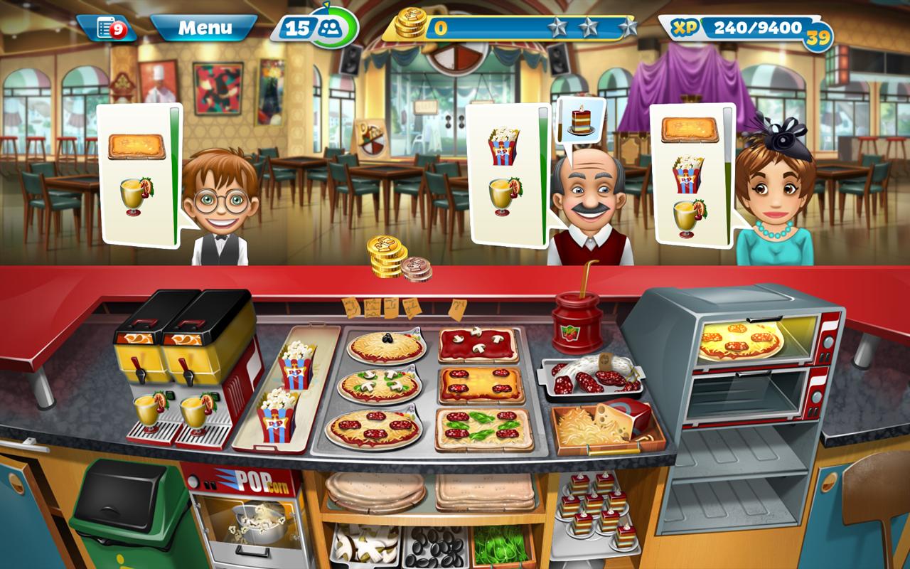скачать игры кухонная лихорадка на андроид