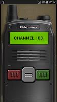 Screenshot of Police Radio Scanner