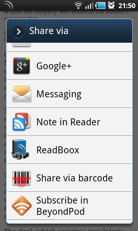 ReadBoox - screenshot