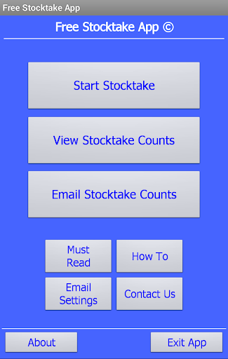 Free Stocktake App