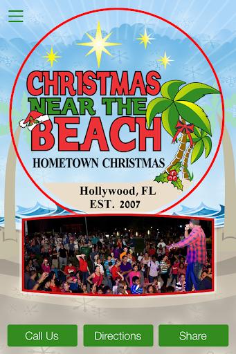 Christmas Near The Beach