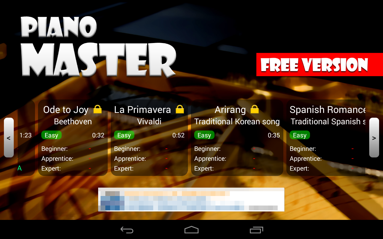 Piano Master FREE - screenshot