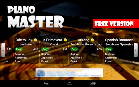 Piano Master FREE 2.23 screenshot 266384