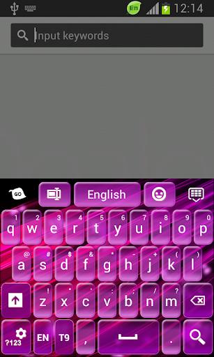 粉紅色和紫色的鍵盤
