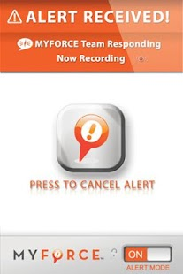 MyForce® Personal Safety App - screenshot thumbnail