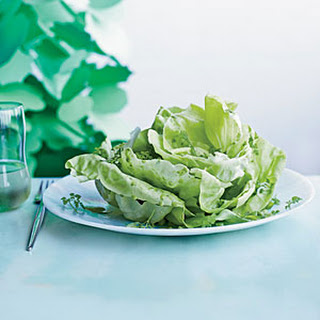 Boston Lettuce Salad with Herbs.