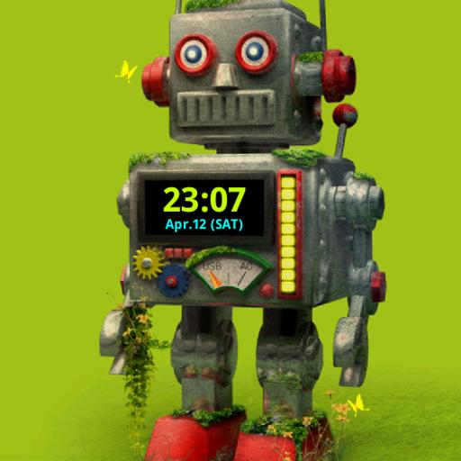 个人化のROBOT ライブ壁紙 トライアル版 LOGO-記事Game