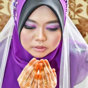 Malay wedding by Tun Izmir - Wedding Bride ( malay wedding, wedding, pengantin, malay )