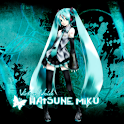 Hatsune Miku HD Live Wallpaper logo