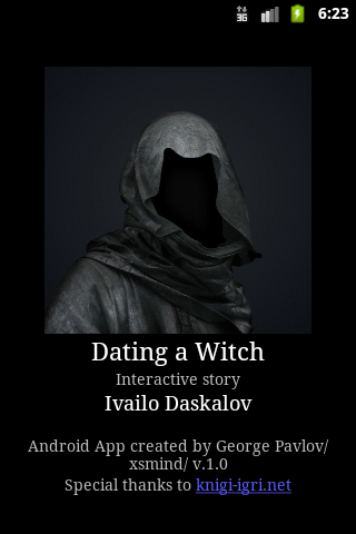 Dating a Witch Gamebook- screenshot