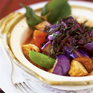 Eggplant-Tofu Ragout