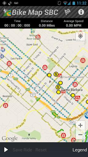 Bike Map SBC