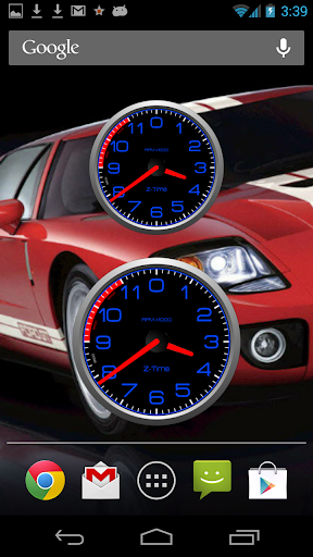 HD Stage2 Tachometer Clock Set