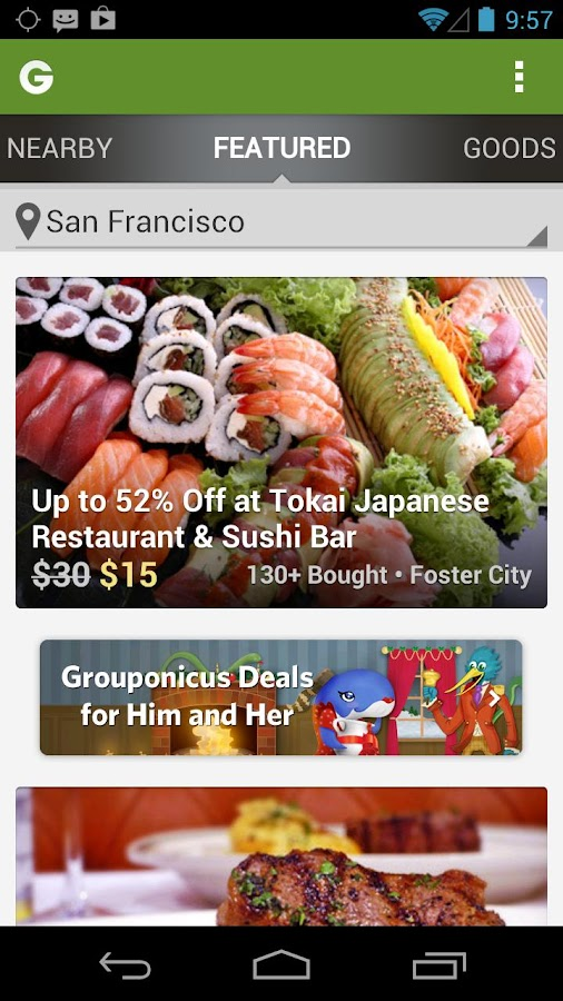 how to buy a groupon as a gift