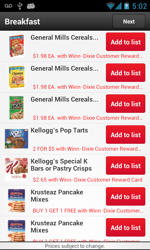 Winn-Dixie Stores, Inc. - screenshot