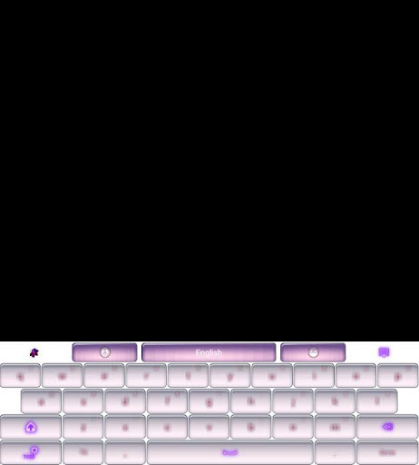 GO Keyboard Pink Theme