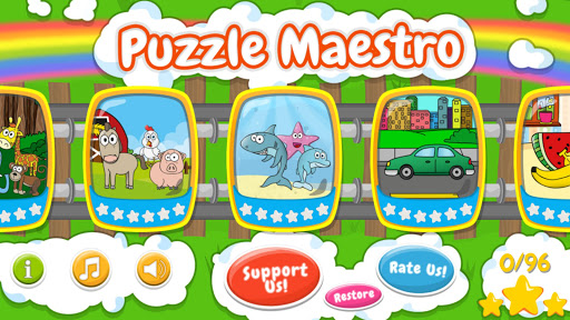 Puzzle Maestro - made for kids