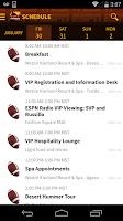 Screenshot of VIP ARIZONA 2015