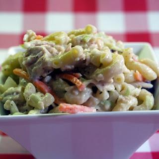 Cabbage Macaroni Salad.