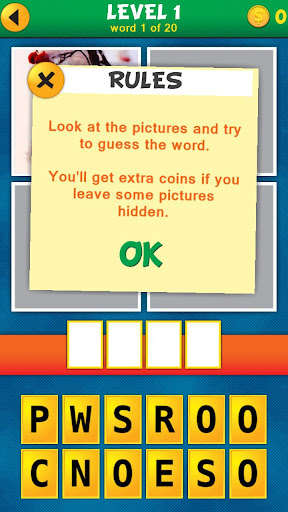 4 Pics 1 Word Puzzle Plus 1.0.9 screenshots 10
