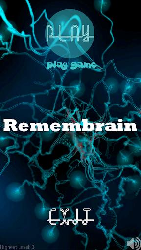 Brain Memory Game –Remembrain