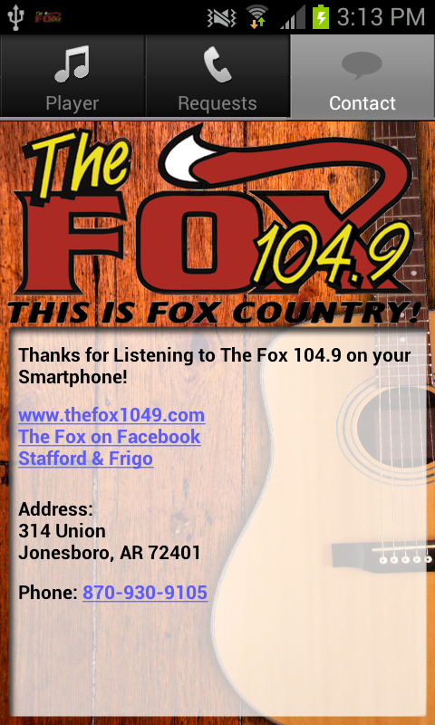 The Fox 104.9 - screenshot