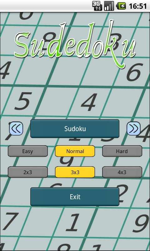 Sudedoku- screenshot