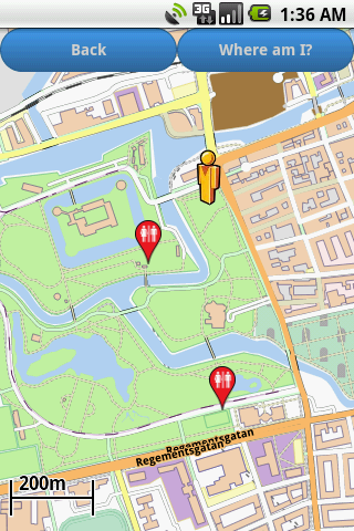 Malmö Amenities Map