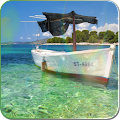 Download Boat on the sea live wallpaper APK for Laptop