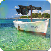Boat on the sea live wallpaper APK for Ubuntu