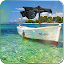 Download Android App Boat on the sea live wallpaper for Samsung