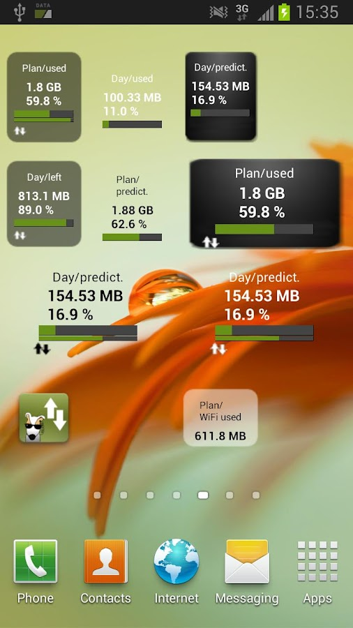 3G Watchdog Pro - Data Usage- screenshot
