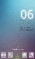 Screenshot of Elegant Pro Magic locker theme