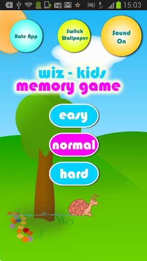 Kids Memory Game Animals