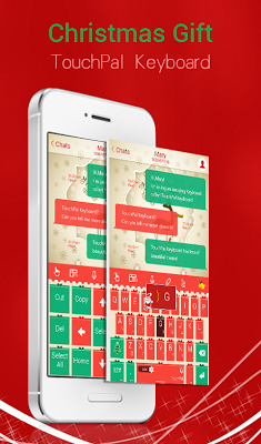 TouchPal Christmas Gift Theme - screenshot
