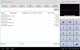 Screenshot of CrossStreet Sales Catalog DEMO